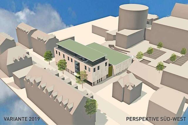 Die Volksbank muss an ihrer Parkhaus-Planung noch feilen