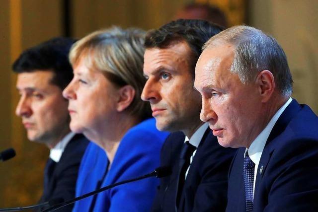 Für die Ukraine brachte der Paris-Gipfel keinen Durchbruch, aber Fortschritte