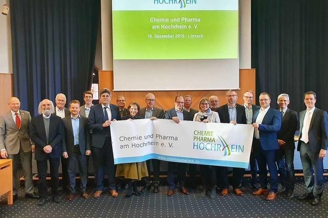Die Chemie- und Pharmaunternehmen am Hochrhein gründen einen Verein