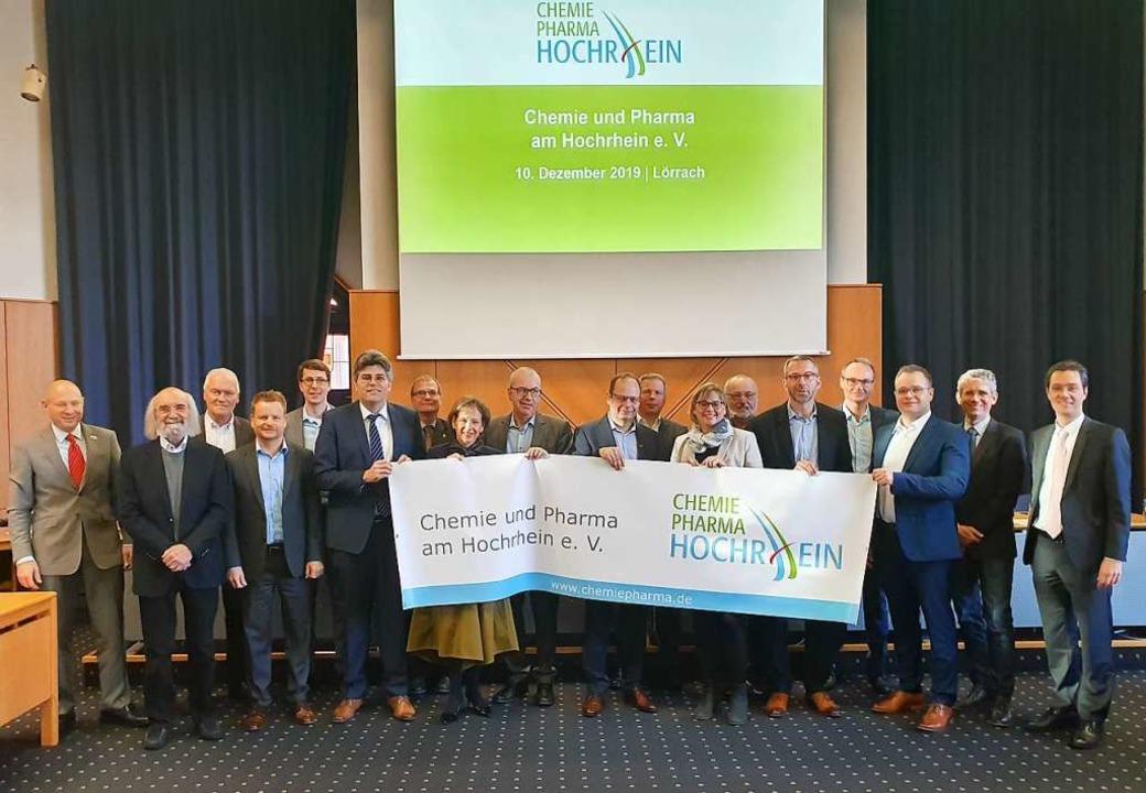 Im Landratsamt Lörrach trafen sich Mit...räte zur ersten Mitgliederversammlung.  | Foto: Chemie und Pharma am Hochrhein e.V.