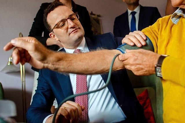 Spahn will Südwest-Krankenkassen stärker finanziell belasten