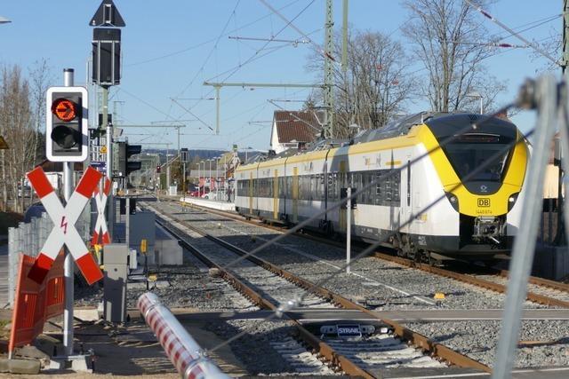 Ein Zug wird nach Löffingen benannt – Rückblick auf die Bauarbeiten