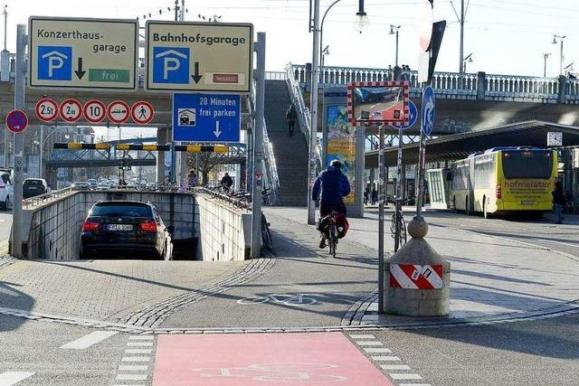 Bahnkunden bekommen keinen Rabatt mehr in der Freiburger ZOB-Tiefgarage