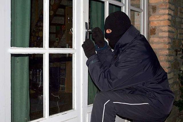 Polizei meldet einen Einbruch in eine Wohnung in Lörrach