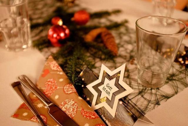 Weihnachten gemeinsam in Lörrach feiern