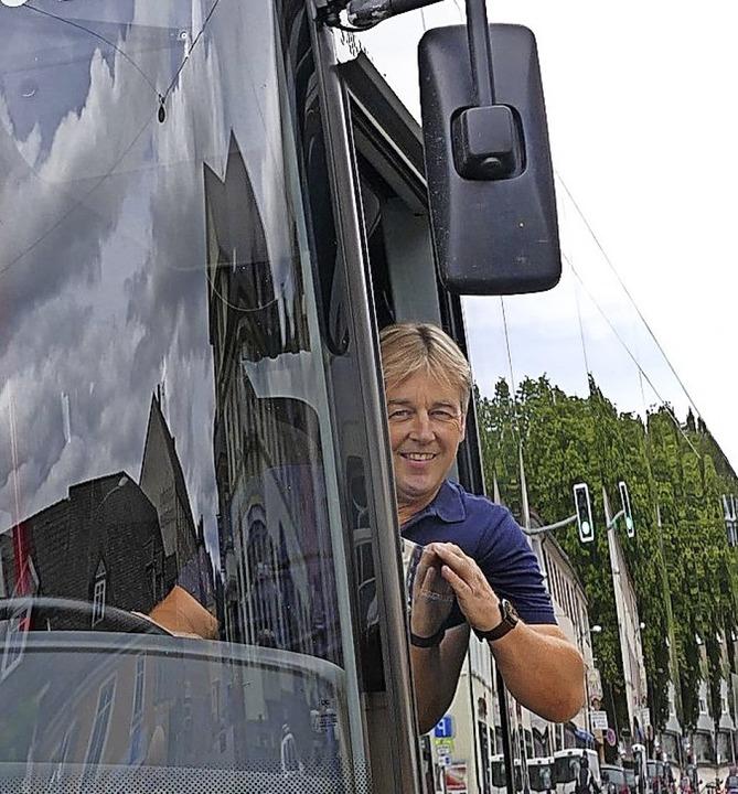 Ingo Bauer an seinem Arbeitsplatz.  | Foto: Stefan Limberger-Andris