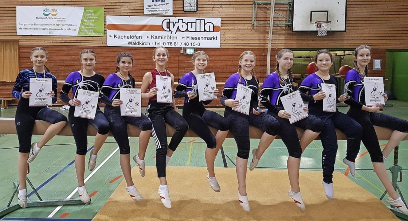 Bei der Vereinsmeisterschaft konnten d...e hatten das gesteckte Ziel erreicht.     Foto: Cornelia Klausmann (Verein)