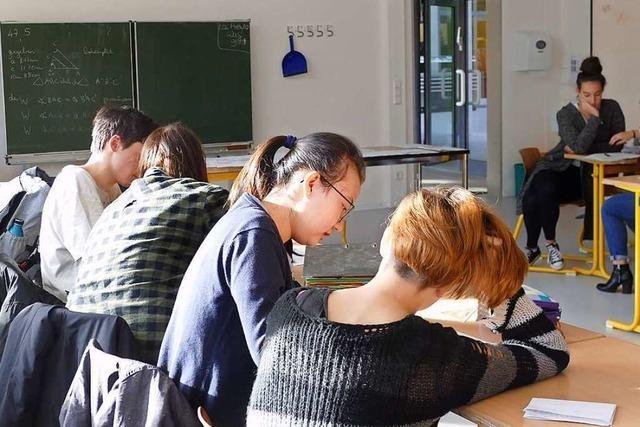 Schüler lernen Deutsch in Tandems