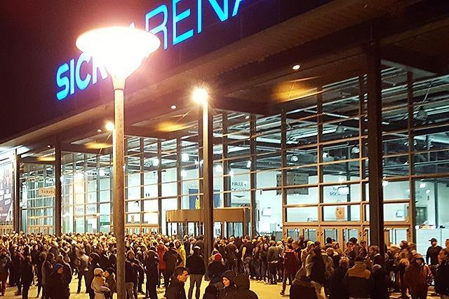Sick-Arena vor Konzert von Feine Sahne Fischfilet geräumt