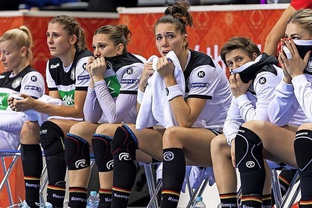 Die deutschen Handball-Frauen verpassen das WM-Halbfinale