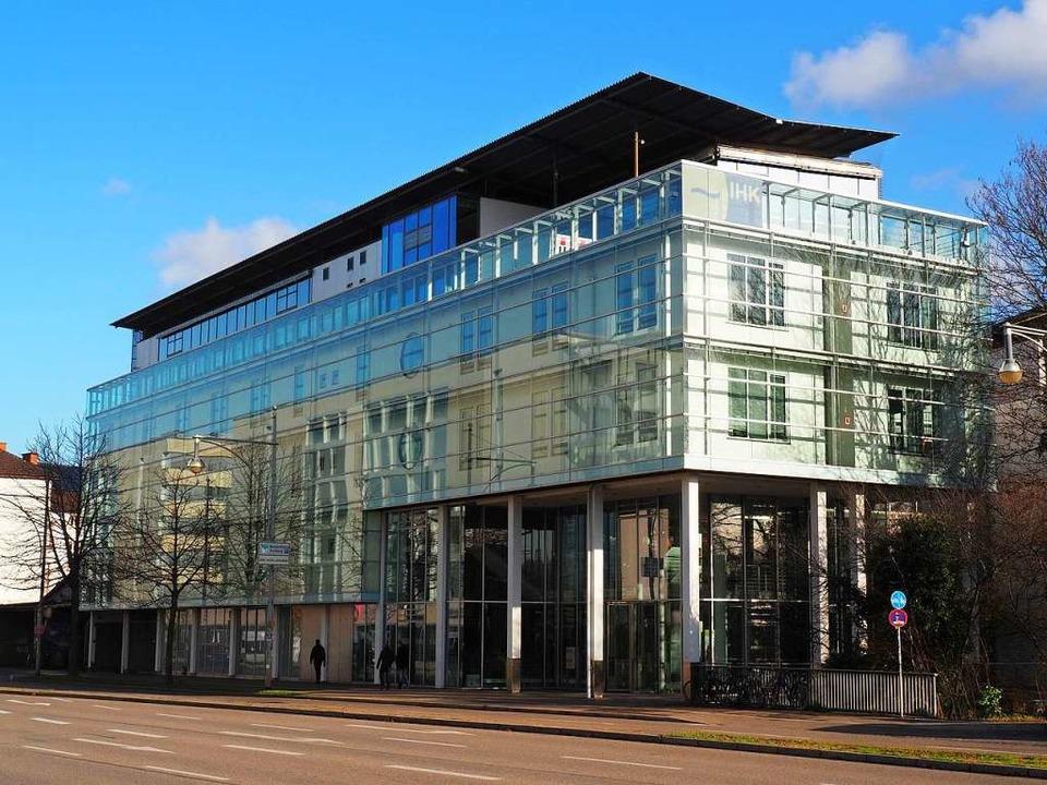 Die IHK-Hauptstelle an der Schnewlinstraße   | Foto: IHK
