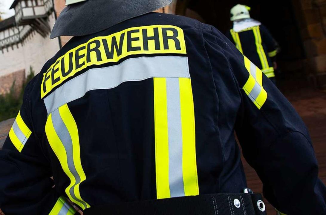 Einsatz für die Feuerwehr (Symbolbild)  | Foto: Swen Pförtner (dpa)