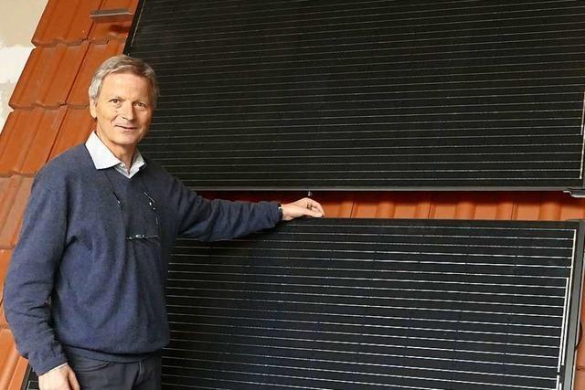Seit 25 Jahren entwickelt Consolar in Lörrach Produkte mit Solarenergie