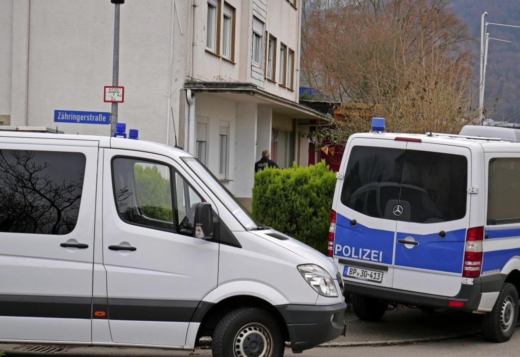 Die Bundespolizei durchsuchte am Mittw...studio und eine Wohnung in Kadelburg.   | Foto: Michael Gottstein