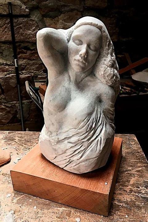 Skulptur von Christina Löwy    Foto: Privat
