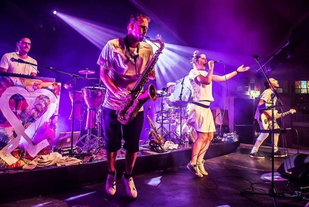 Die Freiburger Band Äl Jawala spielen 2020 wieder auf dem ZMF.  | Foto: Klaus Polkowski