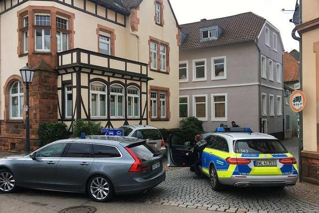 Polizei nimmt Mann in der Lahrer Innenstadt fest