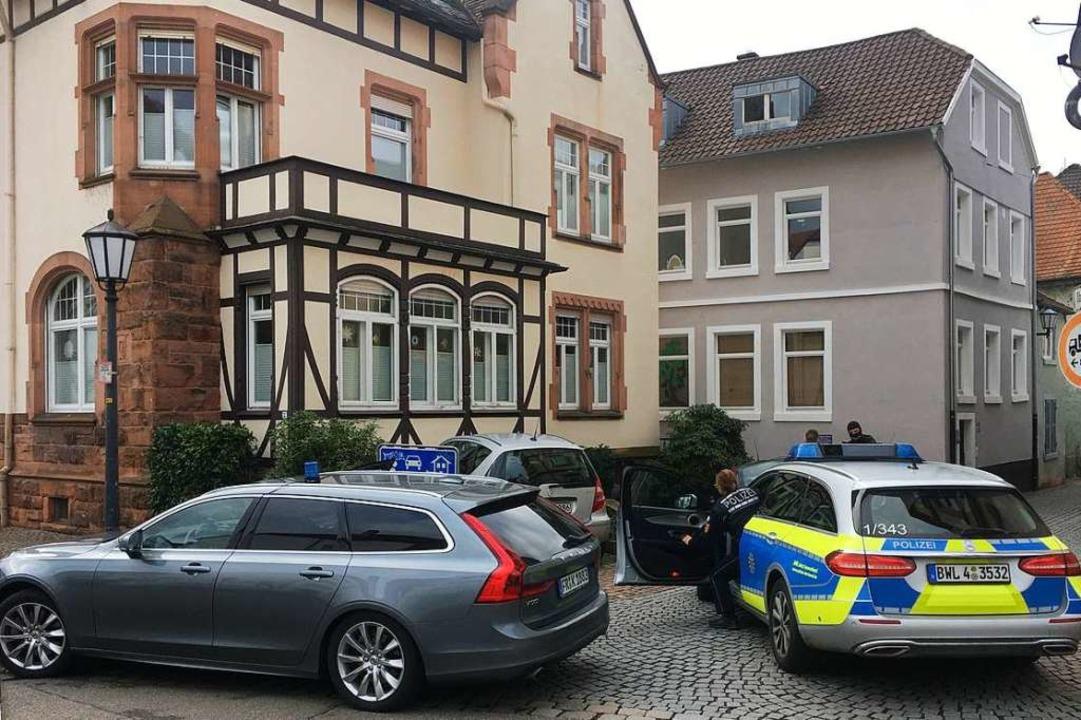Die Festnahme erfolgte an der Ecke Obststraße/Alleestraße.  | Foto: Bastian Bernhardt