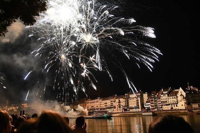 Basel verkürzt sein Silvesterfeuerwerk um ein Drittel