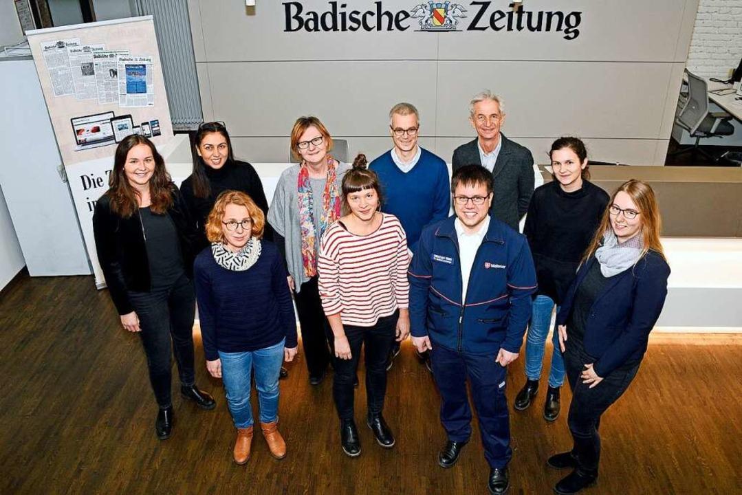Sie kümmern sich  um soziale Projekte ...unsch unterstützt sie mit  24840 Euro.  | Foto: Thomas Kunz