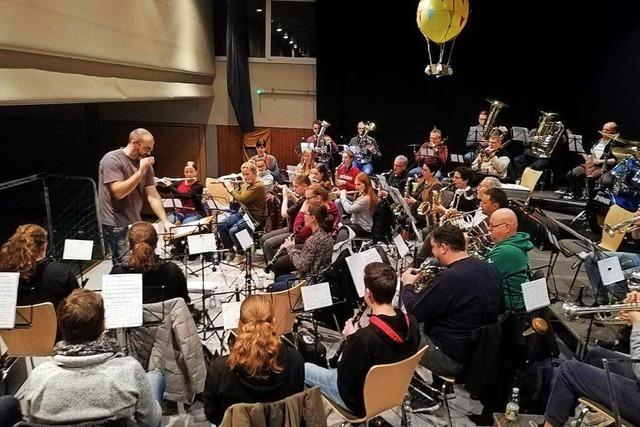 Der Musikverein Prinzbach-Schönberg spielt unter dem Motto