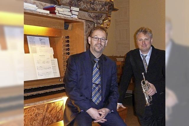 Rudolf Mahni und Carsten Klomp in Kenzingen
