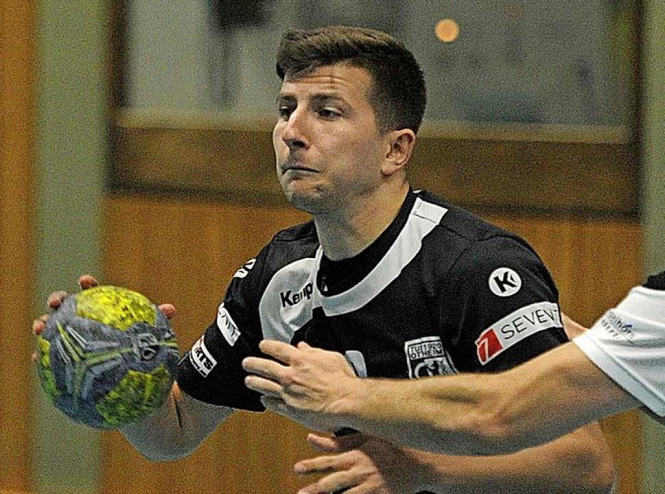 Gebriel Kaufmann und der TuS Ottenheim peilen den fünften Sieg in Folge an.  | Foto: Pressebüro Schaller