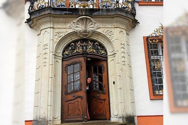 Erzählerin Karla Krauß auf Schloss Bürgeln