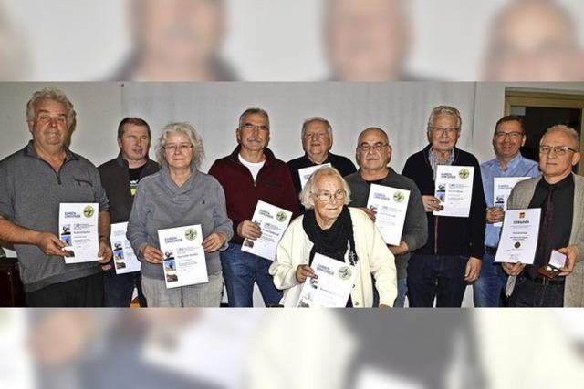AMC Unterer Breisgau ehrt treue Mitglieder