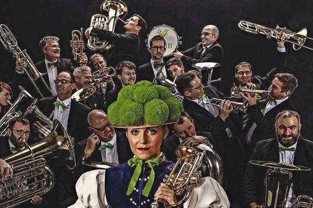 Die Black Forest Brass Band spielt am Samstag in Kirchzarten