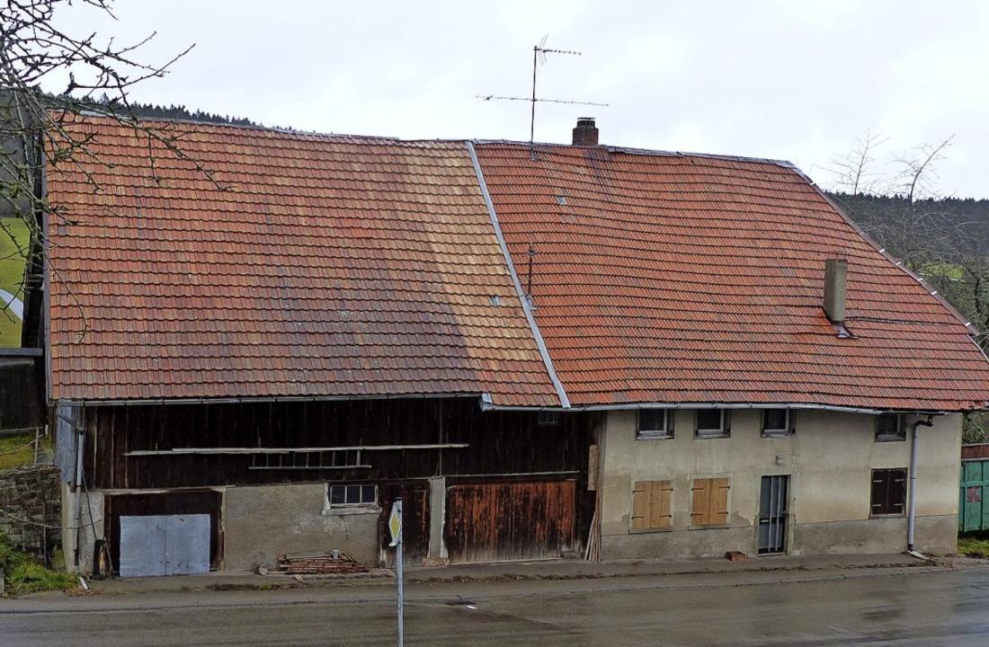 Mit dem Abbruch des Hauses Maier/Bartm...g für den Abbruch ging kürzlich ein.    | Foto: Elisabeth Baumeister