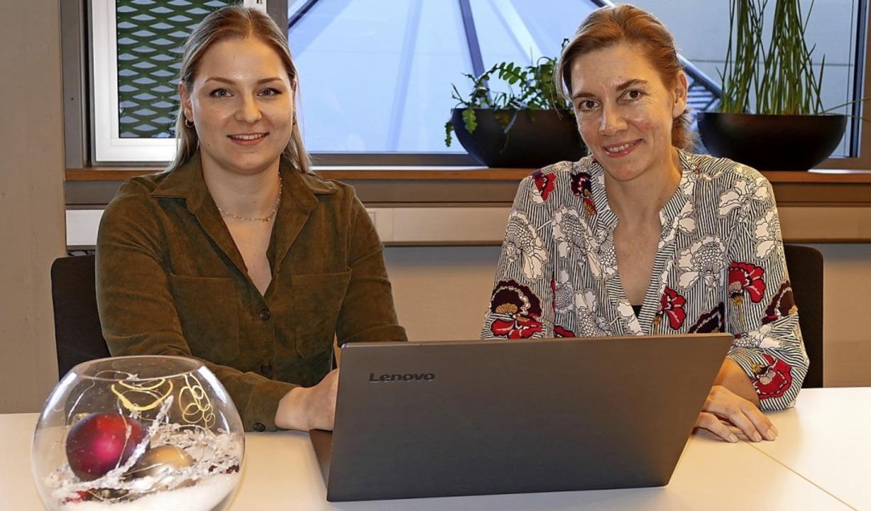 Nicole Ziaja, Ansprechpartnerin für Di...en an der Anwendung für Ehrenamtliche.  | Foto: Elena Borchers