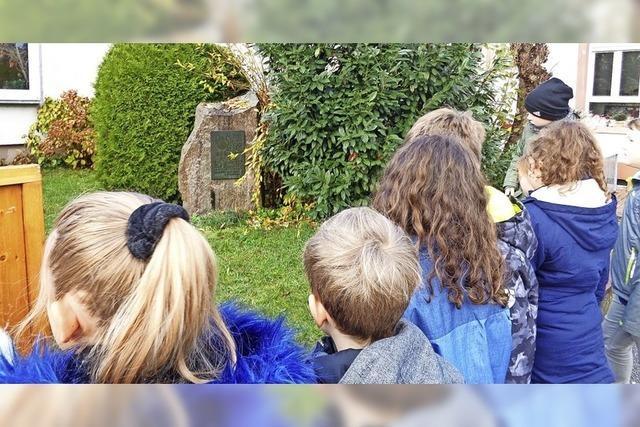 Grundschüler auf den Spuren Metzgers