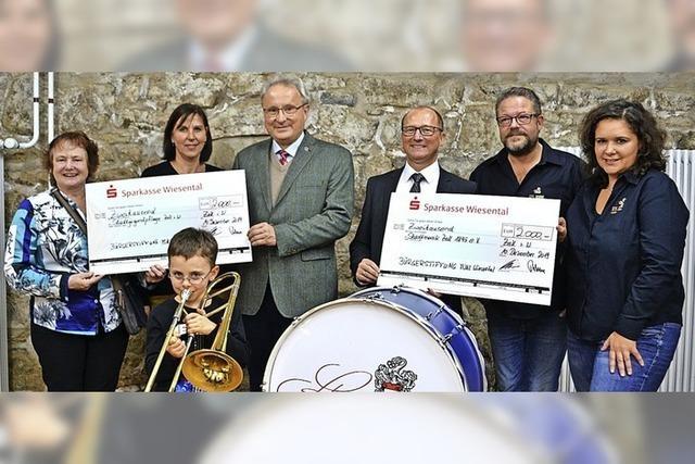 Bürgerstiftung hat ein Herz für Musik und Nachtsport