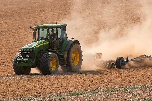Trübes Jahr für die Bauern