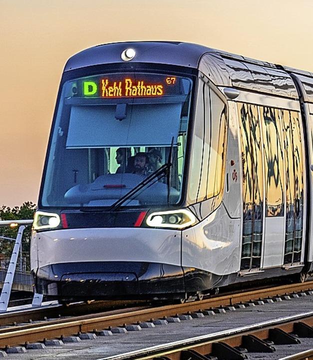Hat einen prima Lauf: die Tram zwischen Kehl und Straßburg  | Foto: stadt Kehl