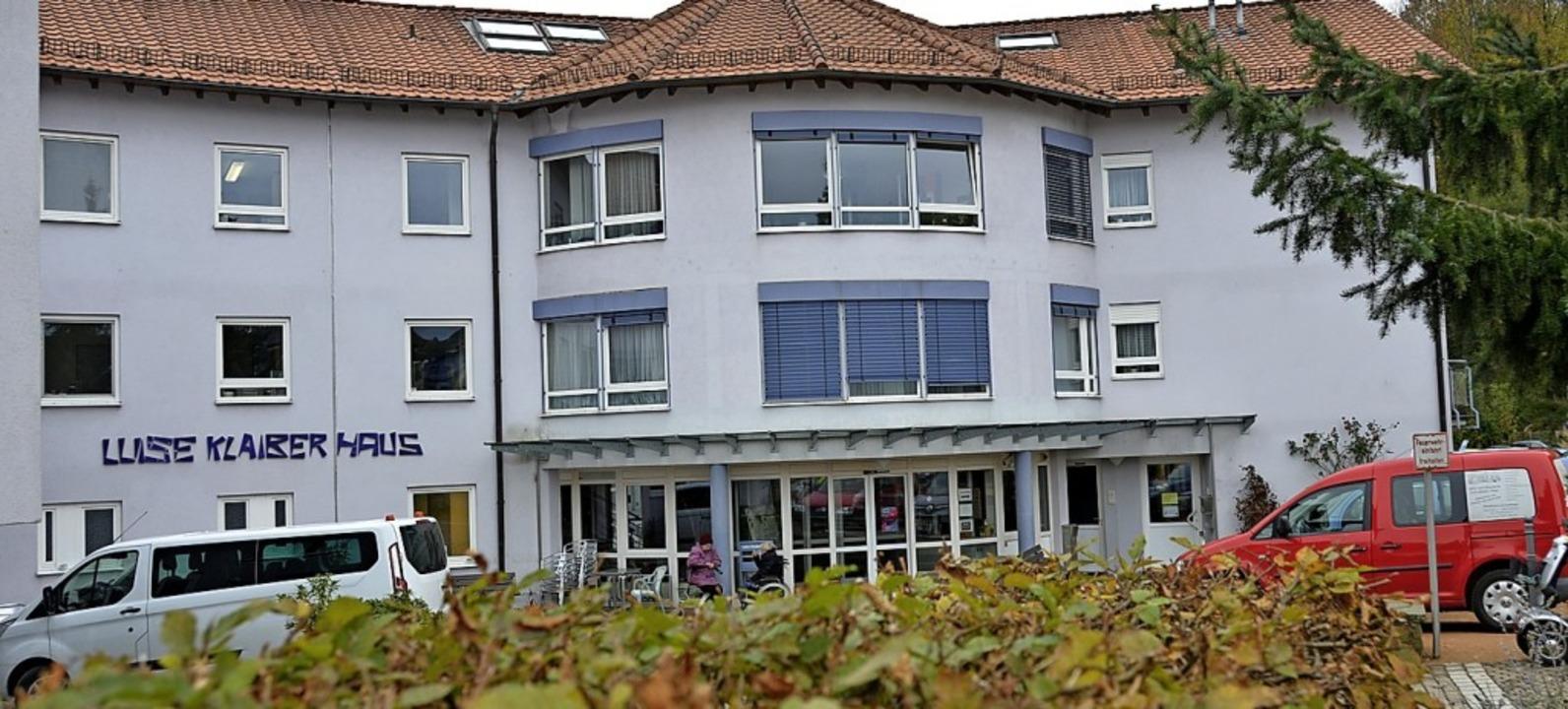 Das Kanderner Pflegeheim Luise-Klaiber-Haus  | Foto: Moritz Lehmann