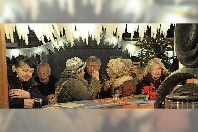 Weihnachtsmarkt in Bad Krozingen eröffnet