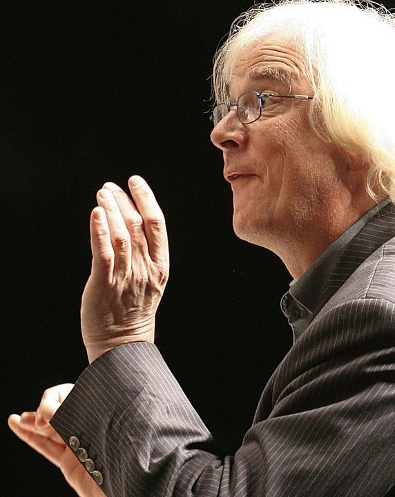 Dirigent Winfried Toll    Foto: Hain Kim