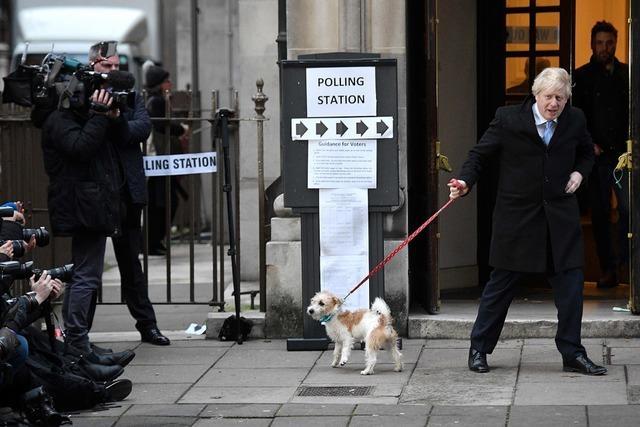 Die Briten haben ein neues Parlament gewählt