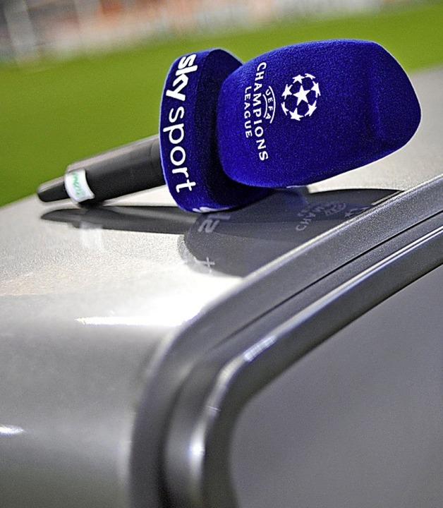 Von der Saison 2022 an zeigt Sky keine Champions League mehr.  | Foto: Andreas Gebert (dpa)