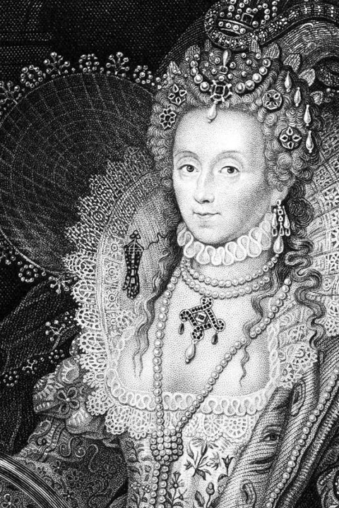 Elisabeth I.  | Foto: Georgios Kollidas, stock.adobe.com; En... Personages of Great Britain'',UK,1829