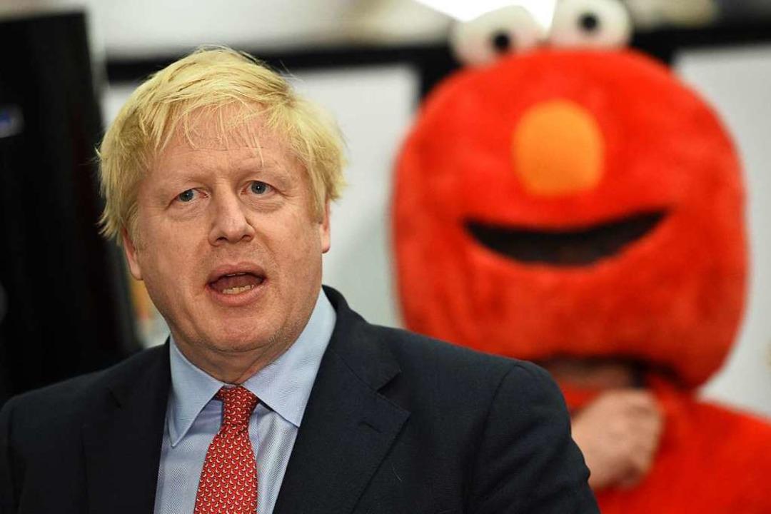 Boris Johnson steht für den Brexit.    Foto: OLI SCARFF (AFP)