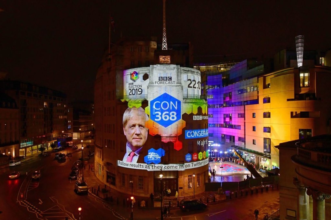 Nun herrscht Klarheit in London.    Foto: JEFF OVERS (AFP)