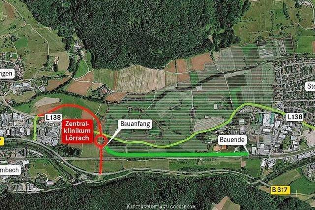 Der Bau des Anschlusses der L138 an die B317 verzögert sich