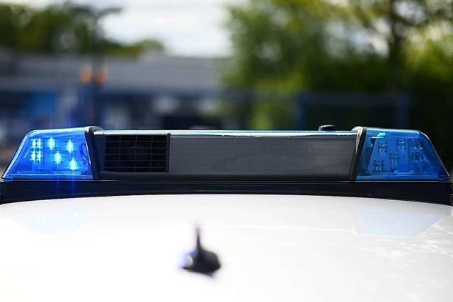 In Lörrach gab es einen Unfall mit drei Fahrzeugen