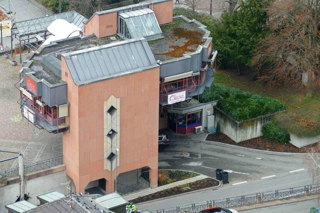 Die Bahnhofsgarage – das Foto ze...d für 8,9 Millionen Euro hergerichtet.    Foto: Peter Gerigk