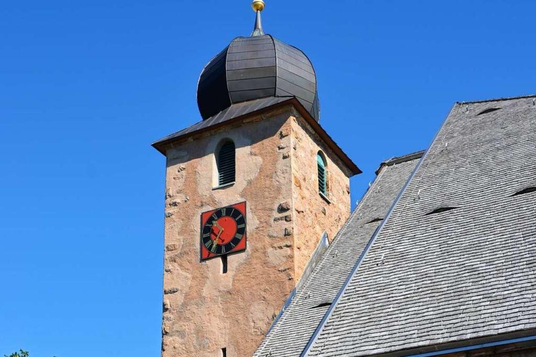 Die Schluchseer Kirche vom Pfarrhaus a...e Amtmann Laroche keinen Unterschlupf.  | Foto: Friedbert Zapf