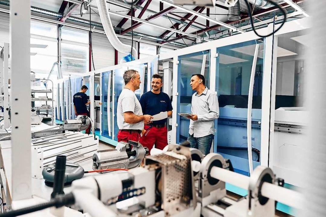 Hightech aus dem Schwarzwald: Produktion bei Rena   | Foto: Rena