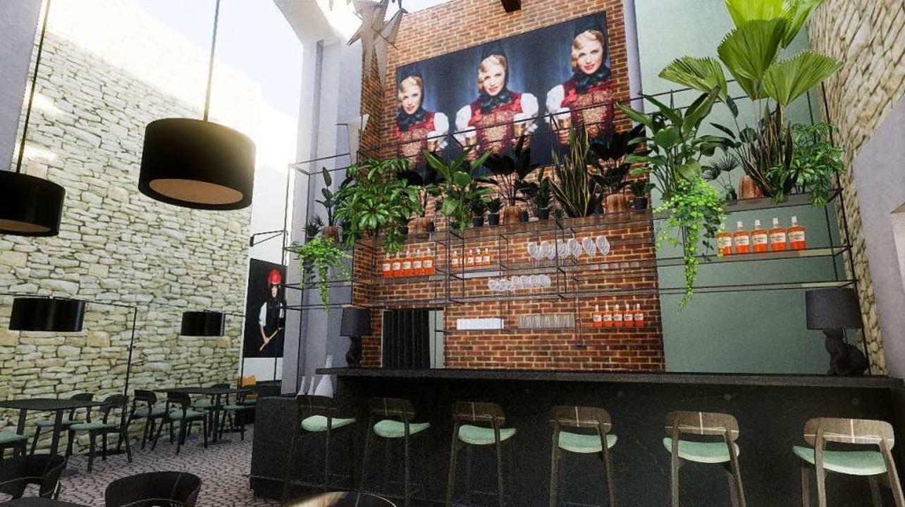 Hohe Räume unter einer Glaskuppel: Frü...chwarzwald kulinarisch zusammenführen.  | Foto: Meissl Architects